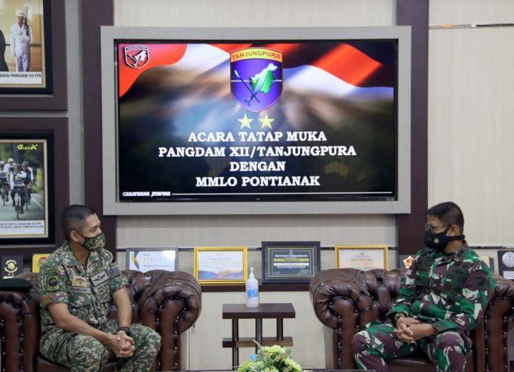 Photo of Pangdam XII/TPR Terima Kunjungan Pamit MMLO