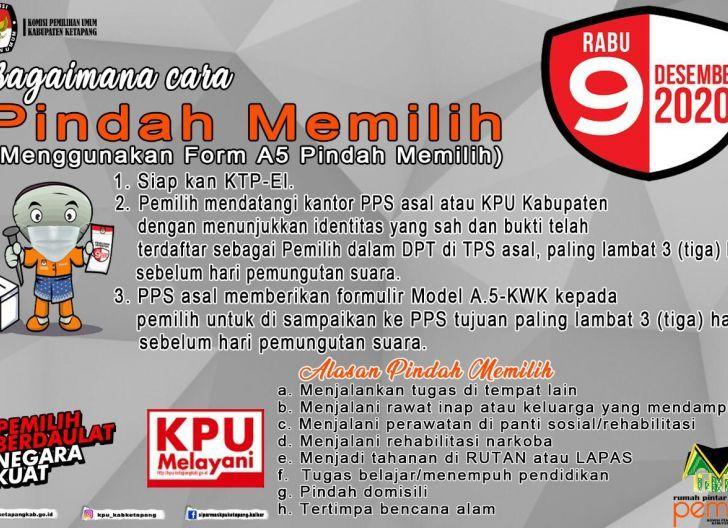 Photo of KPU Ketapang Buka Pengurusan Pindah Memilih