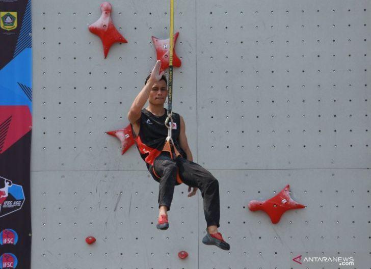 Photo of Veddric Leonardo, Atlet Panjat Tebing Kalbar Ikut Pelatnas Olimpiade