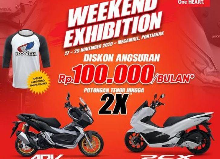 Photo of Kunjungi Honda Weekend Exhibition di Ayani Mega Mall, Astra Motor Kalbar Tawarkan Potongan Angsuran