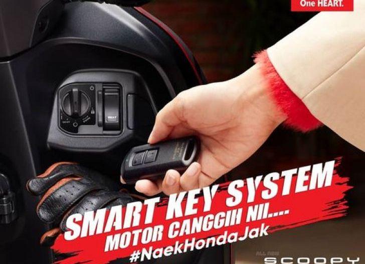 Photo of Dilengkapi dengan Smart Key System, All New Honda Scoopy Diperkaya Fitur Canggih
