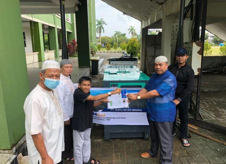 Photo of Serahkan Bantuan Mesin Genset, Pengurus Masjid Al-Ikhlas Sampaikan Terimakasih untuk PT. RIM