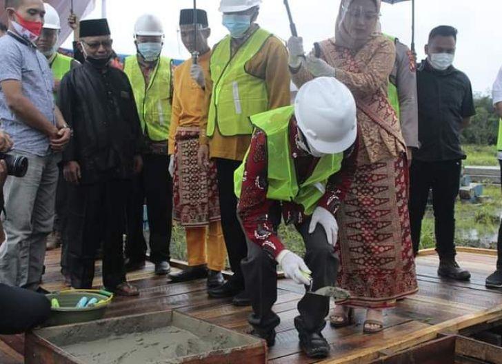 Photo of Rusun Mahasiswa Politeknik Negeri Sambas Mulai Dibangun