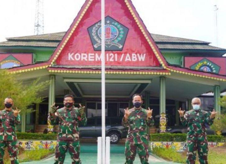 Photo of Korem 121/Abw Selesai Melaksanakan Latihan Posko 1 Korem Tahun 2020