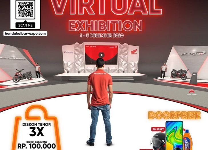 Photo of Astra Motor Kalbar Gelar Virtual Exhibition Honda, Berlangsung Hingga 5 Desember