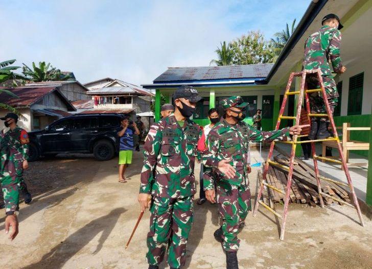 Photo of Tim STER TNI Tinjau Giat Binter Satgas Yonif 642/Kps