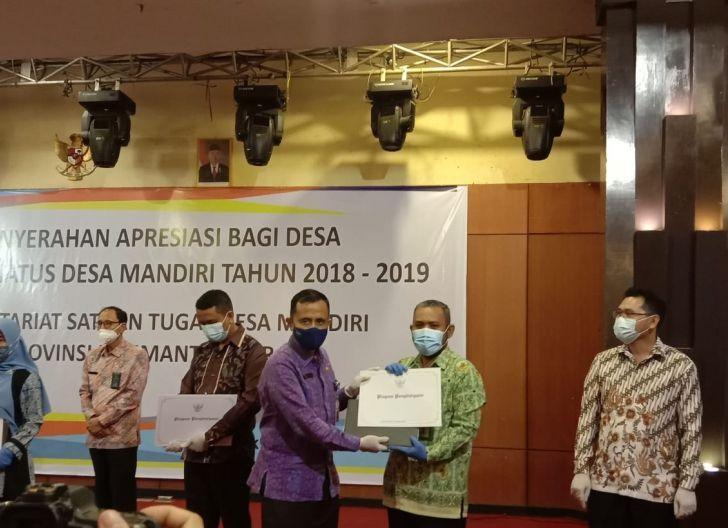 Photo of Tebas Kuala Raih Penghargaan Desa Mandiri