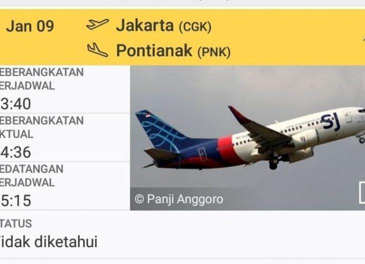 Photo of Pesawat Sriwijaya Rute Jakarta-Pontianak Hilang Kontak, Bupati Kepulauan Seribu Sampaikan Info tentang Pesawat Jatuh dan Meledak di Pulau Laki