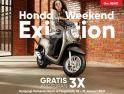 Penawaran Khusus Astra Motor di Honda Weekend Exhibition