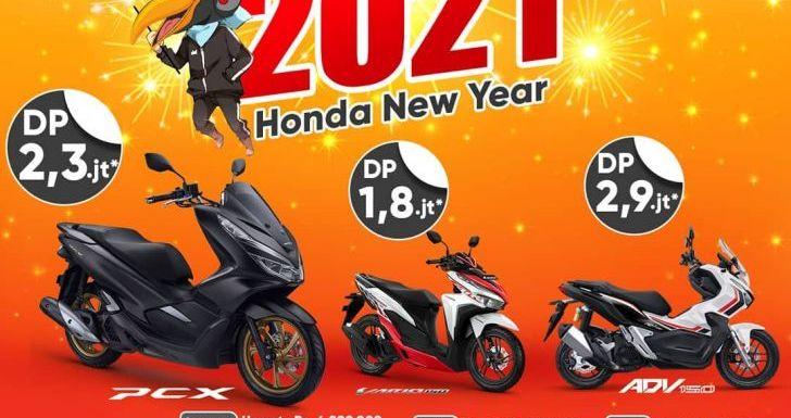 Miliki Motor Baru bersama HEY 2021, Promo Khusus Tahun Baru dari Astra Motor Kalbar