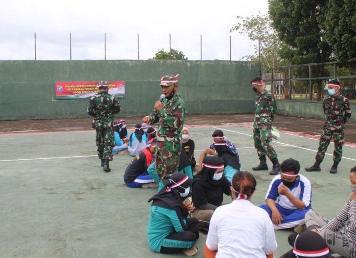 Photo of Bina Generasi Muda, Kodim 1203/Ktp Gelar Wisata Bela Negara
