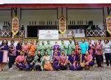 Photo of Ketua Persit KCK Koorcab Rem 121 PD XII Tanjungpura, Kunjungi Dekranasda Kabupaten Kapuas Hulu