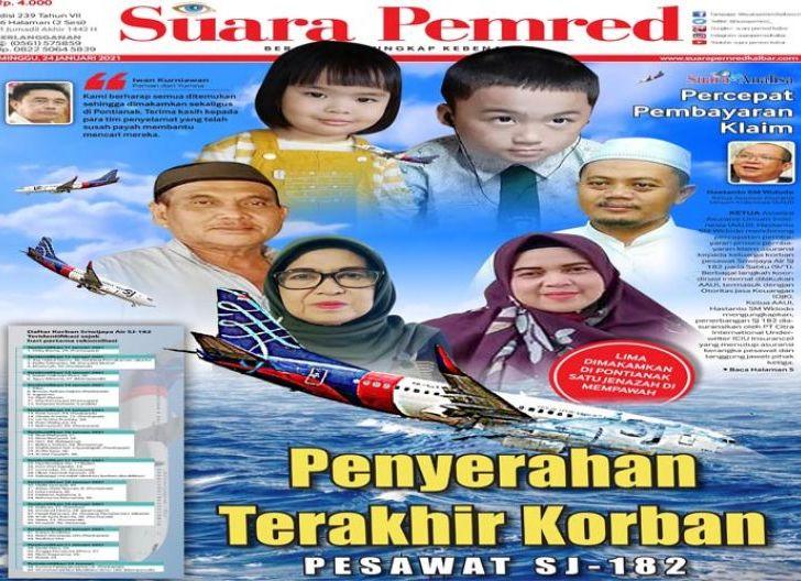 Photo of Penyerahan Terakhir Korban Pesawat Sriwijaya SJ-182