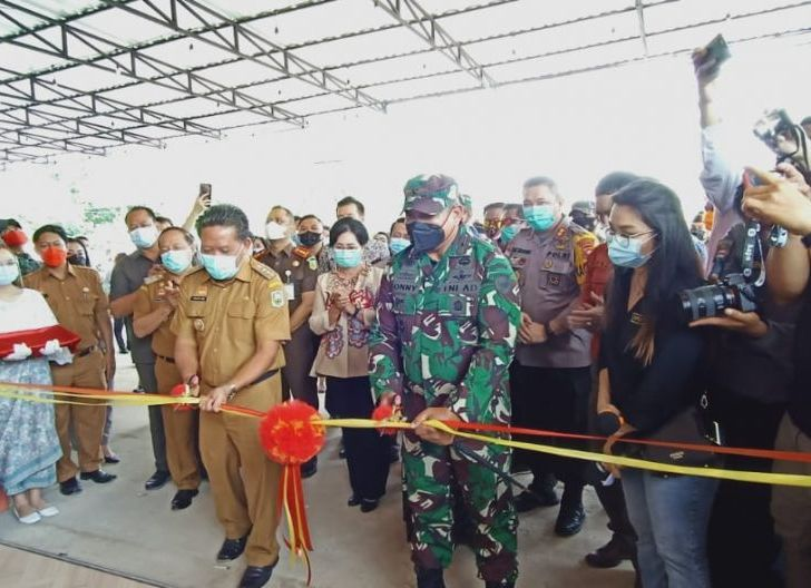 Photo of Danrem 121/Abw Resmikan Kantor Suara Pemred Biro Kapuas Raya