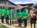 Bantuan Diantar Langsung ke Keluarga Sasaran, Persit Cabang XLV 1201/Mph Berbagi Kasih