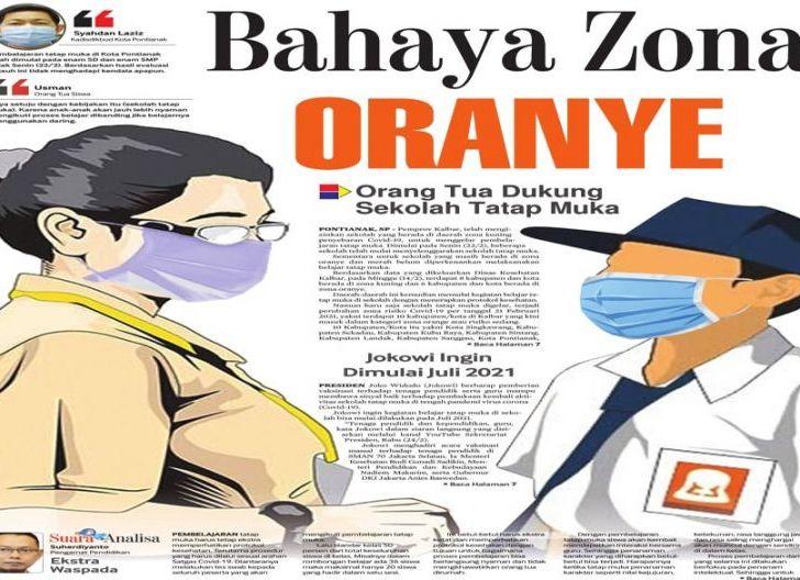 Photo of Orang Tua Dukung Sekolah Tatap Muka, Bahaya Zona Oranye