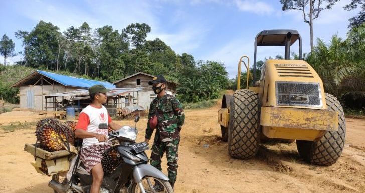 Program TMMD di Desa Tolok,TNI AD Bangun Desa Tertinggal