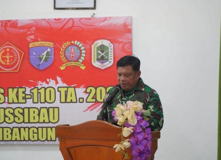 Photo of Danrem 121/Abw Ingatkan Satgas TMMD Tetap Terapkan Protokol Kesehatan