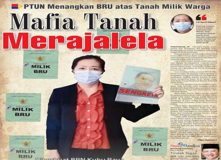 Photo of Mafia Tanah Merajalela, PTUN Menangkan BRU atas Tanah Milik Warga