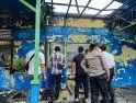 Gercep Anggota, Pasca Kebakaran PDAM Polisi Lakukan Olah TKP