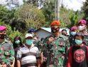 Prajurit Lanud Supadio Turut Sukseskan Program TMMD Reguler ke-110 di Kalimantan Barat