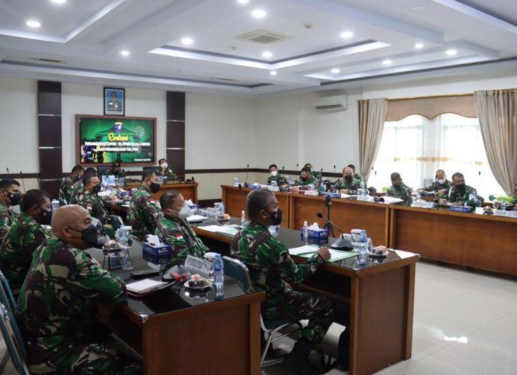 Photo of Pimpin Rapat Evaluasi Penanganan Covid-19, Pangdam XII/Tpr : Melindungi Keselamatan Masyarakat adalah Hukum Tertinggi