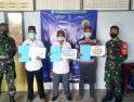 Babinsa Desa Pulau Lemukutan Laksanakan Pengawalan Vaksin Sinovac Covid-19 Tahap 1