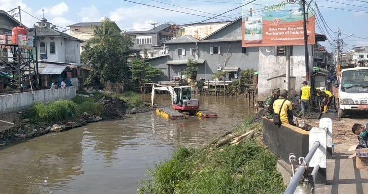 Pemkot Singkawang Mulai Normalisasi Sungai