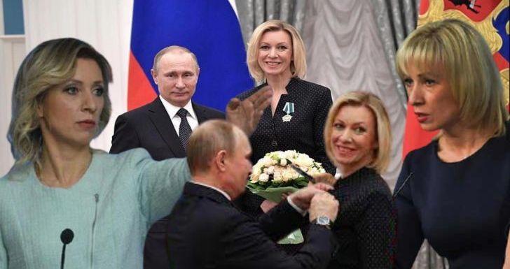 Zakharova,  Jubir Rusia Kesayangan Putin: Wanita  'Paling Judes Sedunia'!