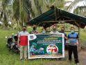 Melalui Anjangsana, Babinsa Tanjung Satai Kodim 1203/Ktp Jelaskanm Manfaat PPKM Mikro Kepada Masyarakat