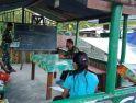 Bangun SDM seja Dini, Satgas Yonif 407/PK Berikan Bimbel Kepada Anak-Anak Perbatasan