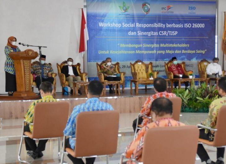 Photo of Buka Workshop Social Responsibility, Erlina: Kegiatan CSR Harus Berkelanjutan