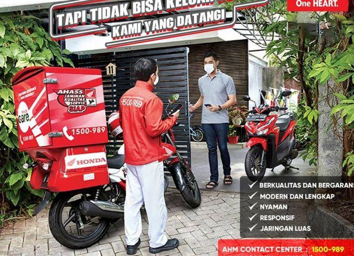 Photo of Servis Sepeda Motor Semakin Mudah Bersama Honda Care