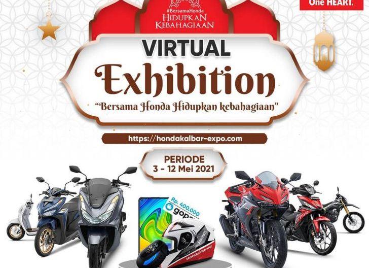Photo of Honda Kalbar Virtual Exhibition, Bersama Honda Hidupkan Kebahagiaan