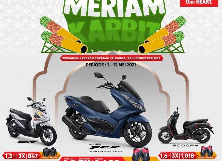 Photo of Meriam Karbit Honda, Promo Special Astra Motor Kalbar di Bulan Mei
