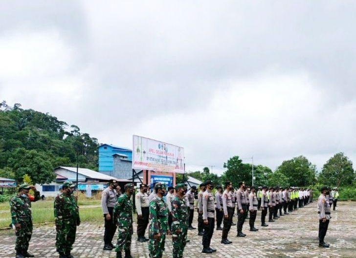 Photo of Babinsa Koramil Sukadana, Ikuti Apel Gelar Pasukan Pengamanan Operasi Ketupat Kapuas 2021