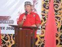 Pemuda Dayak Kabupaten Sanggau Bantu Pengamanan Idul Fitri 1442 H