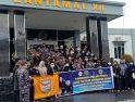 PSHT Kalbar Kunjungi Mako TNI AL Lantamal Xll, Sampaikan Ucapan Belasungkawa atas Tenggelamnya KRI Nanggala-402