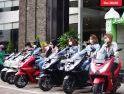 Selebgram Wanita Pontianak Rasakan Sensasi Rolling City Bersama Honda PCX160