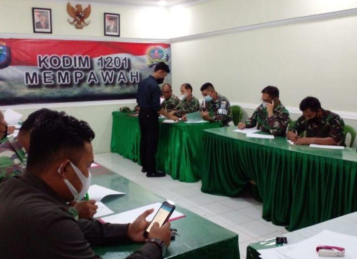 Photo of Korem 121/Abw Gelar Penelitian Personel, Ukur Tingkat Pemahaman terhadap Tugas dan Tanggung Jawab