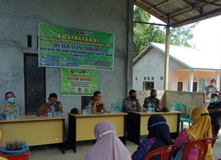 Photo of Sosialisasi PPKM Mikro dan Optimalisasi Posko Penanganan Covid-19