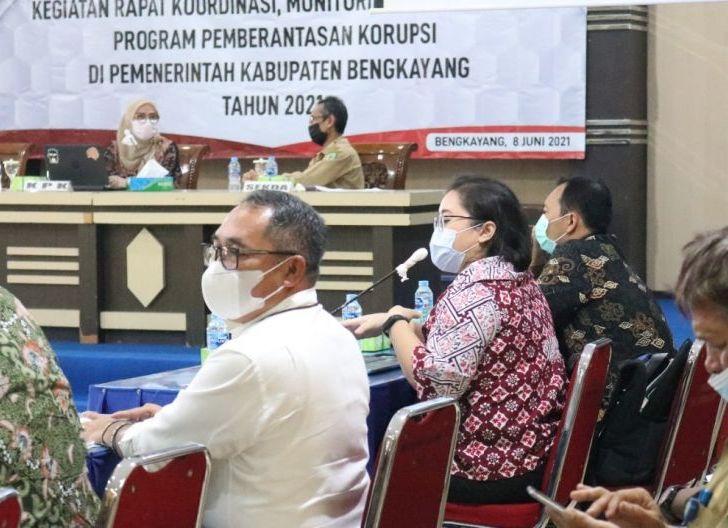 Photo of KPK Pantau Program Berantas Korupsi di Pemkab Bengkayang, Bupati Minta Dukungan Semua Pihak