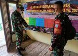 Photo of Kasdim 1207/Pontianak Tinjau Posko TMMD Ke-111 di Desa Kuala Mandor B