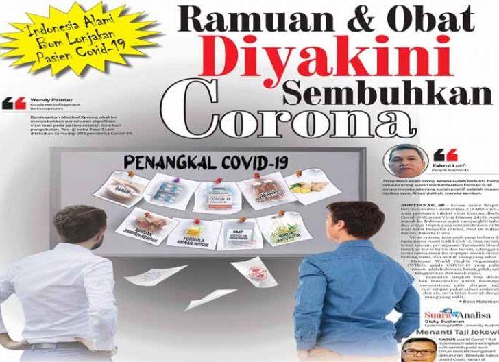 Photo of Indonesia Alami Bom Lonjakan Pasien Covid-19, Ramuan dan Obat Diyakini Sembuhkan Corona
