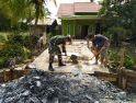 Pengabdian Babinsa Seranggam Terakutualisasi di Desa Binaan