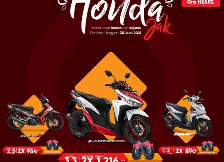 Photo of Promo Khusus Area Sanggau, Banjir Hadiah dan Kejutan dari Astra Motor Kalbar Lewat Honda Jak