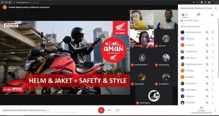 Edukasi Safety Riding, Astra Motor Bersama Pegadaian Selalu Cari_Aman