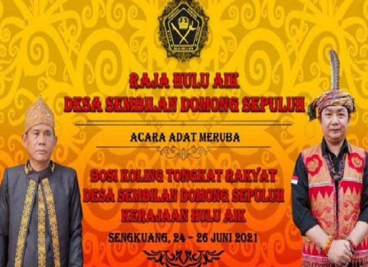 Photo of Raja Hulu Aik Gelar Ritual Adat Maruba
