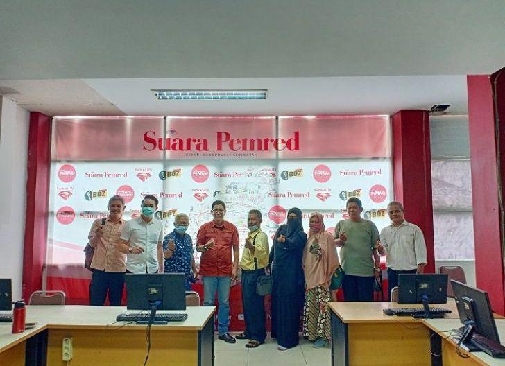 Photo of Kunjungi Kantor Suara Pemred, Asosiasi UMKM Naik Kelas Bangkitkan UMKM di Tengah Pandemi Melalui Publikasi