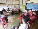 Karolin Lakukan Peninjauan Pelaksanaan PPKM Mikro Tingkat Desa